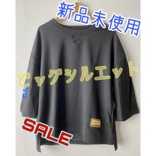 ビッグシルエット Tシャツ 黒 XL