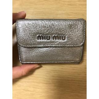 miumiu - ミュウミュウ ミニ財布 値下