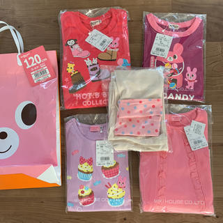 2020 ホットビスケッツ 福袋 120 女の子 ピンク(Tシャツ/カットソー)