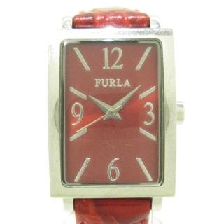 フルラ(Furla)のフルラ 腕時計美品  - レディース レッド(腕時計)