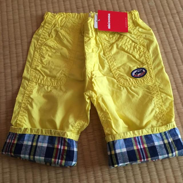 mikihouse(ミキハウス)の新品 ミキハウス  ハーフパンツ 110cm キッズ/ベビー/マタニティのキッズ服男の子用(90cm~)(パンツ/スパッツ)の商品写真