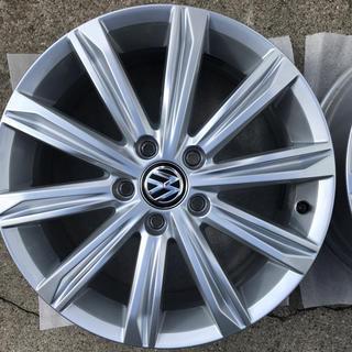 フォルクスワーゲン(Volkswagen)の即決価格 フォルクスワーゲン ゴルフトゥーランハイライン純正品 4本セット(ホイール)