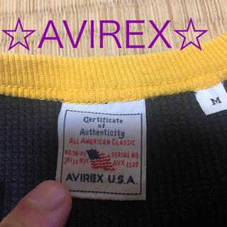 アヴィレックス(AVIREX)のAVIREX 7分袖Tシャツ 即購入可☆(Tシャツ/カットソー(七分/長袖))