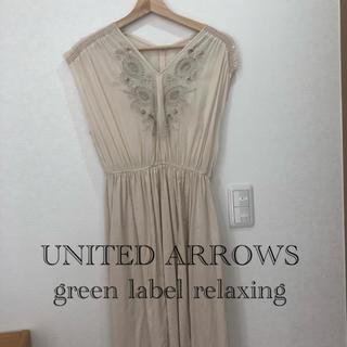 green label relaxing - 【UNITED ARROWS】ワンピース