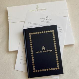 ハリーウィンストン(HARRY WINSTON)の新品&非売品♡ハリーウィンストン ノート(ノベルティ)(ノベルティグッズ)