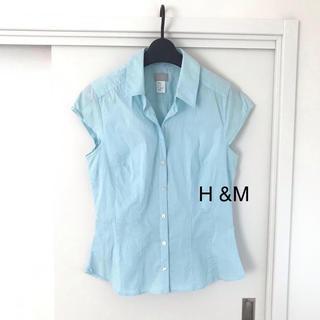 エイチアンドエム(H&M)のH&M 半袖ブラウス(シャツ/ブラウス(半袖/袖なし))