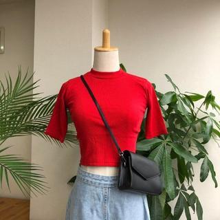 ゴゴシング(GOGOSING)のG336新品*)gogosingクロップドトップス(Tシャツ(半袖/袖なし))