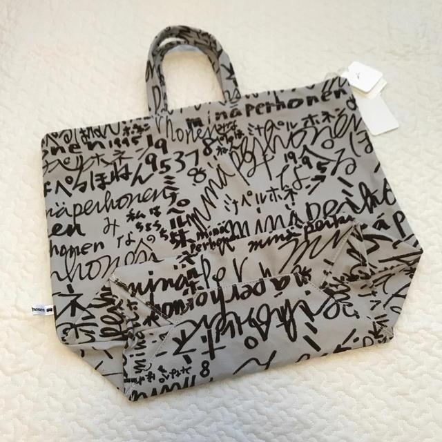 mina perhonen(ミナペルホネン)の最終価格 ミナペルホネン トートバッグ 新品未使用 レディースのバッグ(トートバッグ)の商品写真