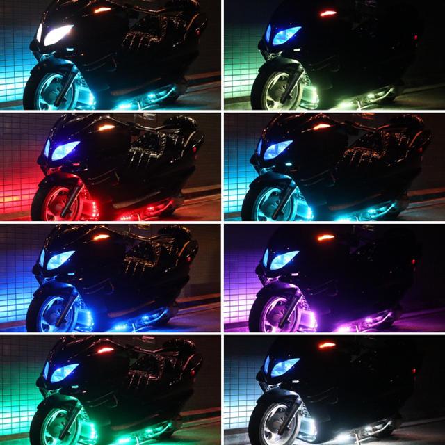 ヤマハ(ヤマハ)の値下げ!【YAMAHA マジェスティ】★フルカス★  外装、エアロ新品 LED 自動車/バイクのバイク(車体)の商品写真