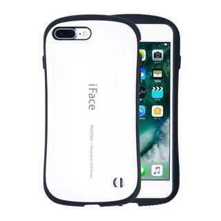 【C30】iFace iPhone7/8Plus (白)スマートフォンケース