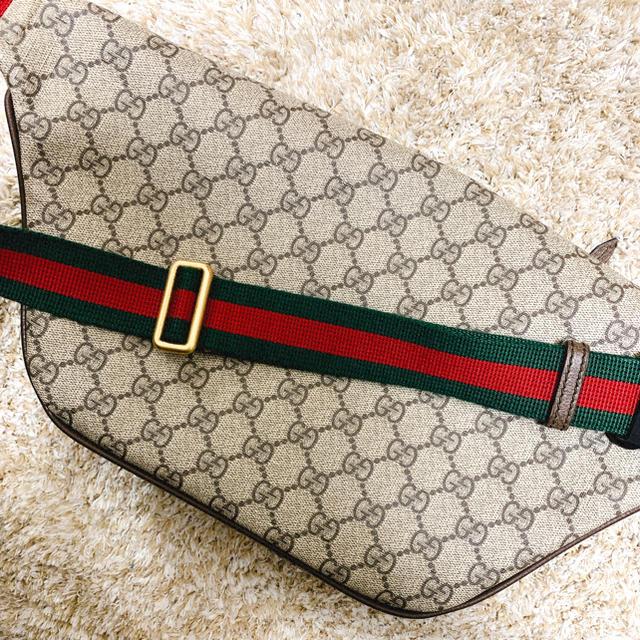 Gucci(グッチ)のGUCCI クーリエ GGスプリーム ベルトバッグ メンズのバッグ(ボディーバッグ)の商品写真