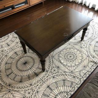 フランフラン(Francfranc)のアンティーク カフェテーブル(ローテーブル)