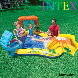 INDEX - INTEX ( インテックス ) ダイナソアプレーセンター プール すべり台