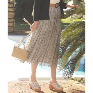 エニィスィス(anySiS)のany sis エスニックパネルプリント スカート(ロングスカート)