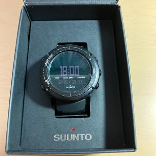 スント(SUUNTO)のスントコア ディープブラック suntocore(腕時計(デジタル))