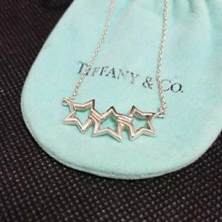 Tiffany & Co. - 中古 ティファニー トリプルスターネックレス