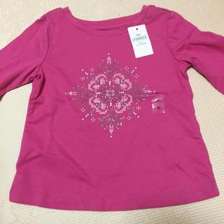 ベビーギャップ(babyGAP)のbabyGAP☆新品☆80☆長袖Tシャツ・雪(Tシャツ)