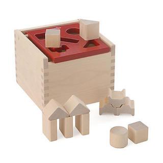 ブリオ(BRIO)の木のおもちゃ MICKI社 ポストボックス(積み木/ブロック)