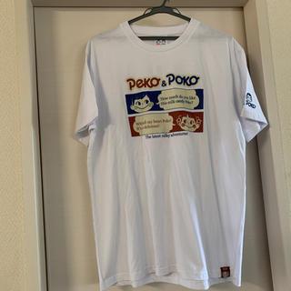 サンリオ(サンリオ)の新品♡peko&pokoTシャツ【L・ホワイト】(Tシャツ/カットソー(半袖/袖なし))