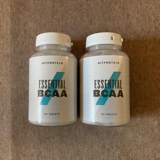 マイプロテイン(MYPROTEIN)の新品2個セット★MYPROTEIN ESSENTIAL BCAA 90錠(アミノ酸)