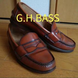 ジーエイチバス(G.H.BASS)のG.H.BASS WEEJUNS ローファー USA製(スリッポン/モカシン)