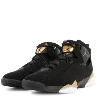 ナイキ(NIKE)のNike Air Jordan TRUE FLIGHT Black Gold(スニーカー)