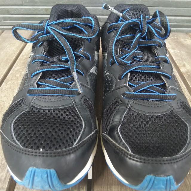asics(アシックス)のアシックス レザービーム 22.5cm キッズ/ベビー/マタニティのキッズ靴/シューズ(15cm~)(スニーカー)の商品写真