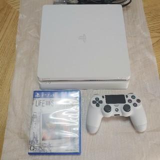 PlayStation4 - 美品 PS4 500GB CUH-2200AB 白