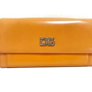 ドルチェアンドガッバーナ(DOLCE&GABBANA)のドルチェアンドガッバーナ 長財布 オレンジ(財布)