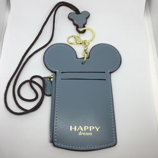ミッキーマウス - ミッキー型 パスケース