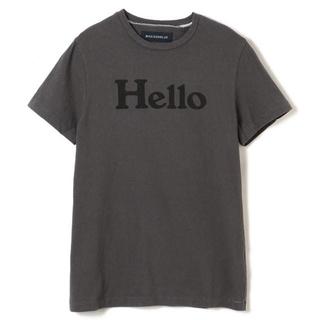 マディソンブルー(MADISONBLUE)の新品未使用タグ付 HELLO CREW NECK TEE グレー01(Tシャツ(半袖/袖なし))