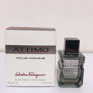 サルヴァトーレフェラガモ(Salvatore Ferragamo)のフェラガモ アッティモ プールオム EDT 40ml (香水(男性用))