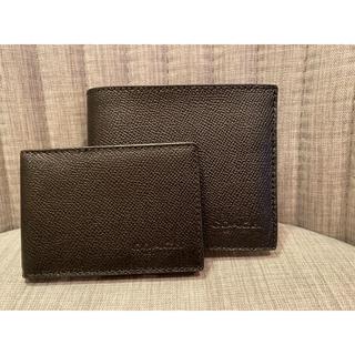 コーチ(COACH)のお箱代込 新品❤︎ コーチ メンズ 二つ折り財布&カードケース(折り財布)