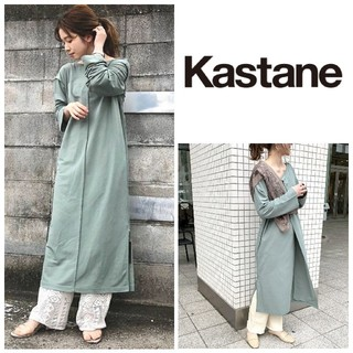 Kastane - 人気完売♡新品タグ付き ラップワンピース サックスブルー カスタネ