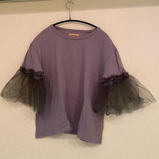 ハニーミーハニー(Honey mi Honey)のハニーミーハニー チュールTシャツ(Tシャツ(半袖/袖なし))