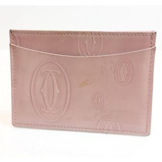 カルティエ(Cartier)のカルティエ ハッピーバースデイ カードケース パスケース(名刺入れ/定期入れ)