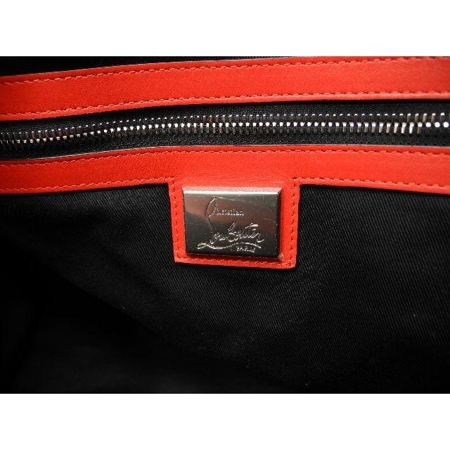 Christian Louboutin(クリスチャンルブタン)のクリスチャンルブタン トートバッグ バックデイモン レザー青 メンズショルダー7 メンズのバッグ(トートバッグ)の商品写真