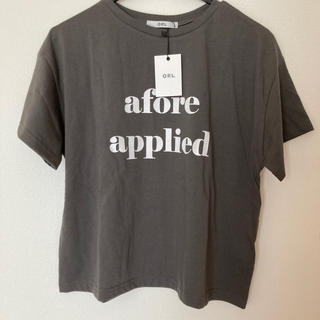 GRL - 【新品未使用タグ付き】グレイル シンプルロゴTシャツ