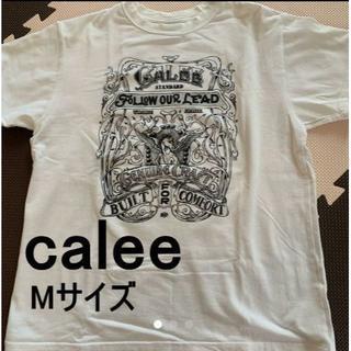 calee Tシャツ Mサイズ ホワイト 白