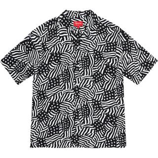 Supreme - Supreme Flags Rayon S/S Shirt レーヨンシャツ