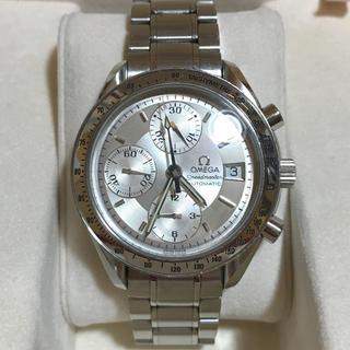 オメガ(OMEGA)のオメガスピードマスターデイトクロノグラフ シルバー自動巻きUSED(腕時計(アナログ))