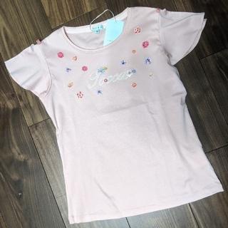 トッカ(TOCCA)の【新品】トッカバンビーニ リオ 半袖フリル Tシャツ 130(Tシャツ/カットソー)