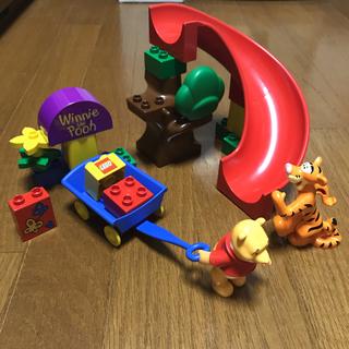 Lego - LEGO デュプロ 2985 くまのプーさん 滑り台