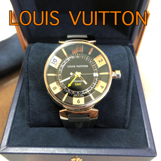 LOUIS VUITTON - ルイヴィトン 腕時計 タンブール  GMT