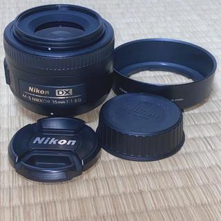 Nikon - 【極美品】Nikon AF-S DX 35mm f1.8G