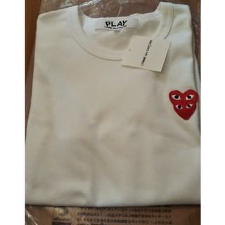 COMME des GARCONS - 新作 PLAYコムデギャルソン Wハート Tシャツ
