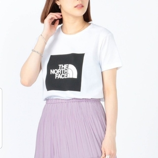 Ray BEAMS - 新品タグ付*THE NORTH FACE  ビッグ スクエア ロゴ Tシャツ