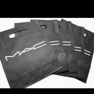 マック(MAC)の【未使用品】MAC ショップ袋 x 2枚(ショップ袋)
