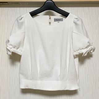リランドチュール(Rirandture)のリランドチュール リボンデザインブラウス(シャツ/ブラウス(半袖/袖なし))