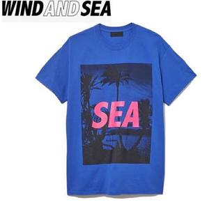 シー(SEA)のWIND AND SEA ウインダンシー T PALM TREE PHOTO(Tシャツ/カットソー(半袖/袖なし))